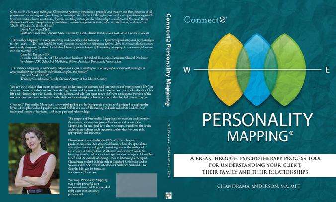 "Soon to be released book, ""Personality Mapping: A psychotherapeutic Process Tool for Clinicians"""